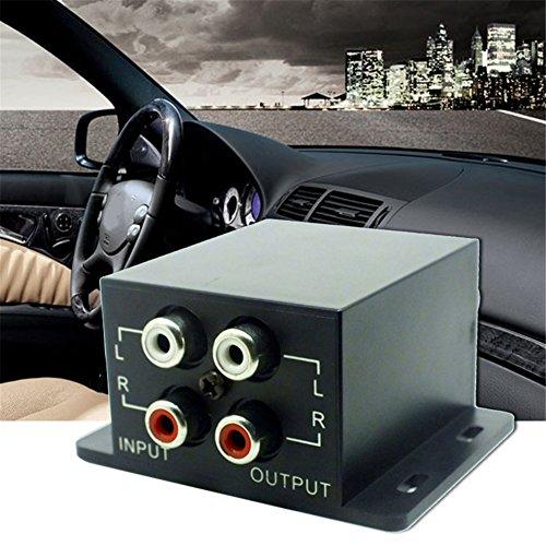 Sweetlife Professioneller Universal-Kfz-Bass RAC, ferngesteuerter Verstärker reguliert Subwoofer, Equalizer, Crossover Controller für Auto