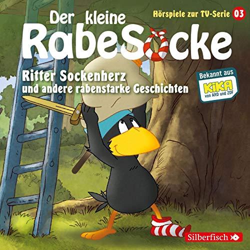 Ritter Sockenherz, Mission: Dreirad, Der falsche Pilz (Der kleine Rabe Socke - Hörspiele zur TV Serie 3): 1 CD