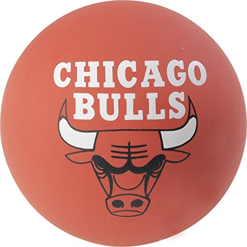 Spalding NBA Spaldeens Bulls (51-179Z) Vpe 24Pcs Minibalones de Baloncesto, Rojo, Talla Única