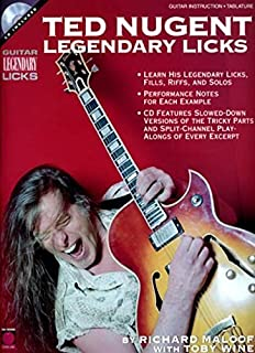 Ted Nugent - Legendary Licks (Guitar Legendary Licks)