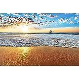DGiigwei-Jigsaw Puzzles Madera Rompecabezas,Rompecabezas / 2000/3000 Piezas Adultos Niños Vistas a la Playa de Madera Los Juguetes educativos -1500_Pieces