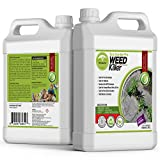 ECO GARDEN PRO - 100% White Vinegar Organic Weed Killer | Kid Safe Pet Safe |...