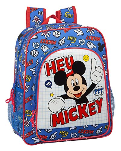 Mochila Safta Escolar Junior de Mickey Clubhouse, 320x120x380mm