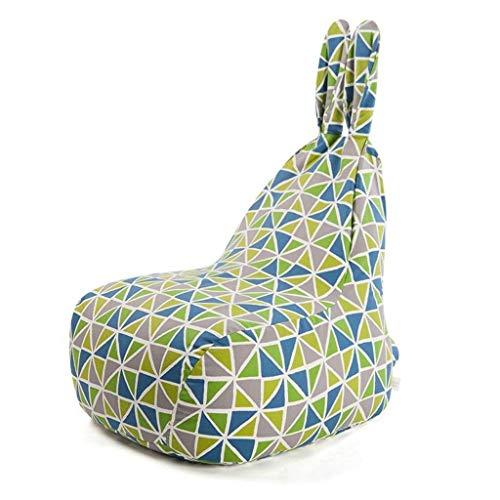 SHAOXI Silla de Piso Bean Bag sillas perezosas Sofá Cama Personalizada al Aire Libre Conveniente for el Juego Interior AAA de Gran Capacidad (Color: Color), No se Requiere ensamblamiento.