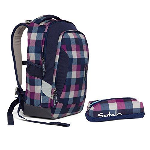 Satch Sleek Berry Carry Schulrucksack Set 2tlg. inkl PenBox