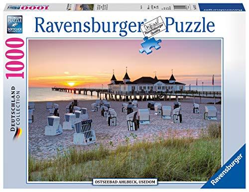 Ravensburger Puzzle 19112 - Ostseebad Ahlbeck, Usedom - 1000 Teile Puzzle für Erwachsene und Kinder ab 14 Jahren, Puzzle mit Strand-Motiv