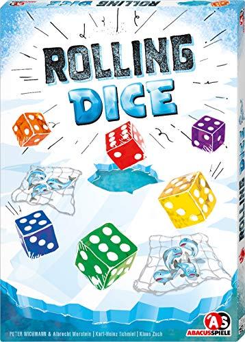 ABACUSSPIELE 03211 Rolling Dice, Familienspiel, Brettspiel