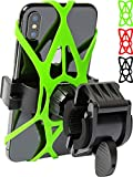 Bike Phone Mount for any Smart Phone: iPhone 11 PRO Max XS XR X 8 7 6 5 Plus Samsung Galaxy S20 S10 S9 S8 S7 S6 S5 Edge, LG. Motorcycle, Bicycle Phone Mount. Mountain Bike Mount. Bike Accessories