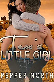 "alt=""When a big, strong, handsome soldier tells off a customer who was treating her poorly, pastry chef Rosie Perez soon finds herself baking cookies for her rescuer... and calling him daddy.  Tex is the kind of daddy who will cuddle her when she's upset. He's also the kind who will take his little girl over his knee and spank her bare bottom very soundly when she's been naughty, then bathe her and put her to bed in her nursery to remind her that she's not a big girl anymore.  Though Rosie blushes crimson as Tex diapers her for the first time, when he takes her in his arms and claims her properly it is the most pleasure she has ever experienced. But when she has to visit the doctor will she be a good girl for daddy or will her bottom be bright red for her exam?  Publisher's Note: Tex's Little Girl is a stand-alone sequel to The Medic's Little Girl. It includes spankings, sexual scenes, and age play. If such material offends you, please don't buy this book."""