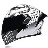 オートバイフルフェイスヘルメットオートバイスクーターヘルメットモジュラーバイクフリップアップオートバイフルフェイスヘルメットアダルトダブルシェードオートバイヘルメット