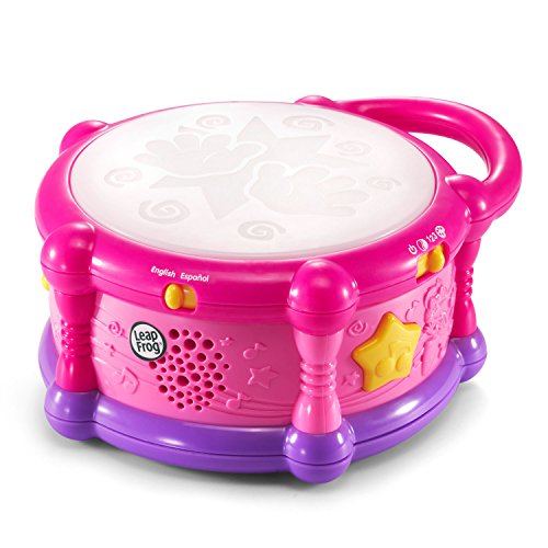 Product Image of the LeapFrog Learn & Groove Color Play Drum Bilingual, Pink (Amazon Exclusive)