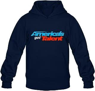 ZHENGXING Men's America's Got Talent Hooded Sweatshirt XXL Royal Blue