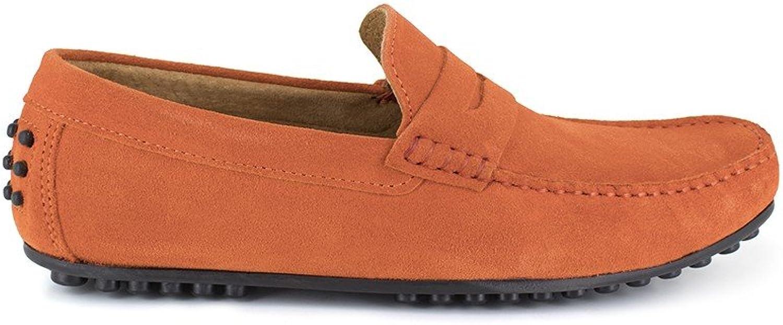Peter Blade Loafer orange Leather Basil