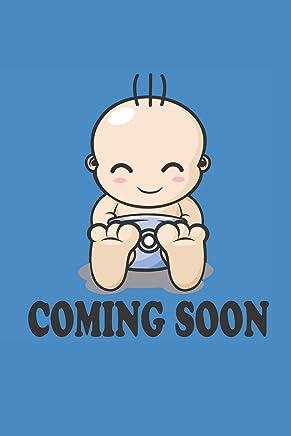 COMING SOON: für Mütter Notebook Mama Notizbuch Baby Mum Journal 6x9 kariert