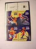 1993 Circus Issue Block of 4 29 Cent U.S. Stamps Scott 2750-53 by USPS