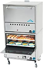 Comstock Castle 2PO26 Double Stacked Gas Pizza Oven