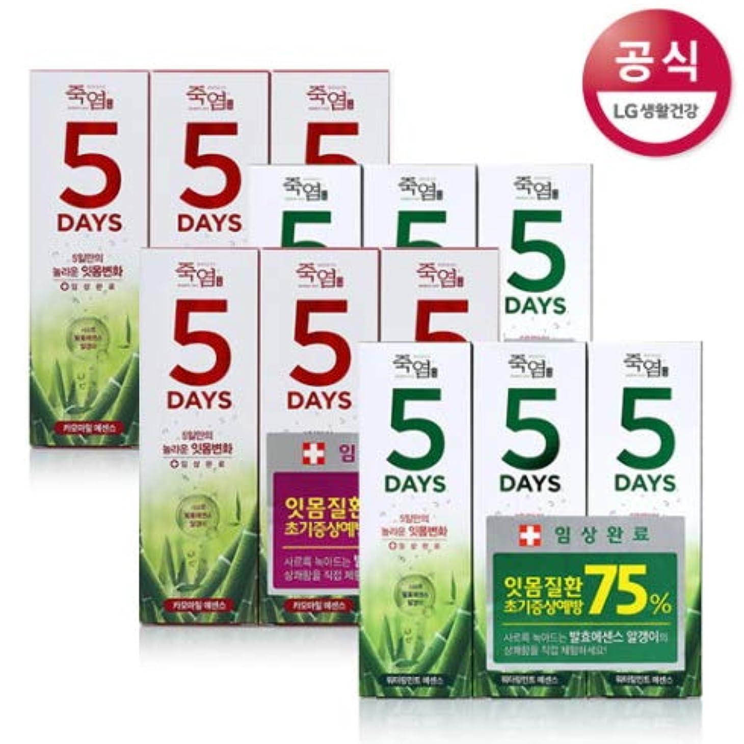 神秘的な散文近々[LG HnB] Bamboo Salt 5days Toothpaste /竹塩5days歯磨き粉 100gx12個(海外直送品)