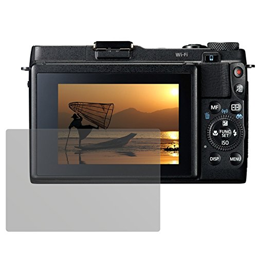dipos I 6X Schutzfolie matt kompatibel mit Canon Powershot G1X Mark II Folie Displayschutzfolie