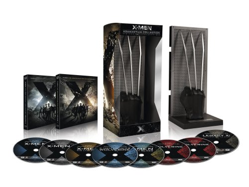 X-Men - Adamantium Collection inkl. X-Men 1-6 (exklusiv bei Amazon.de) [Blu-ray]