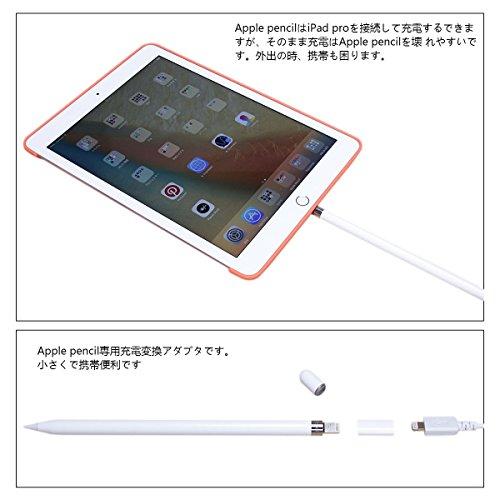 『LANMU 充電アダプタFor Apple pencil ライトニングUSBケーブル用変換アダプタ アップル ペンシル 専用』の3枚目の画像