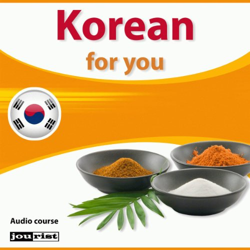 Korean for you audiobook cover art