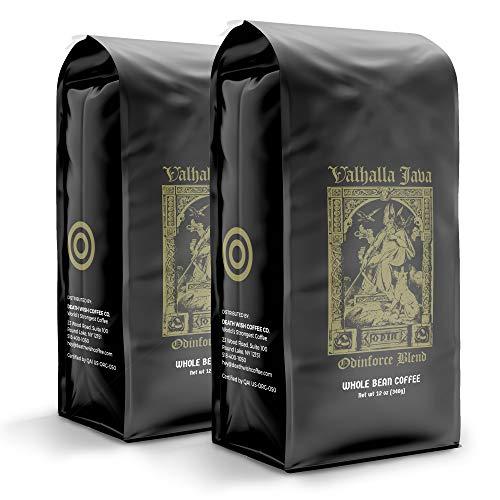 VALHALLA JAVA Whole Bean Coffee [12 Oz.] The World's...