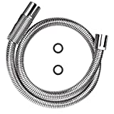 KWODE Pre-rinse Hose 44 Inch Flexible Stainless Steel Hose Replacement Kit for All Brand Commercial...