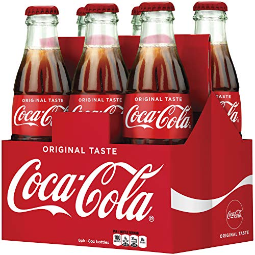 Coca-Cola Soda Soft Drink, 8 fl oz (pack of 6)