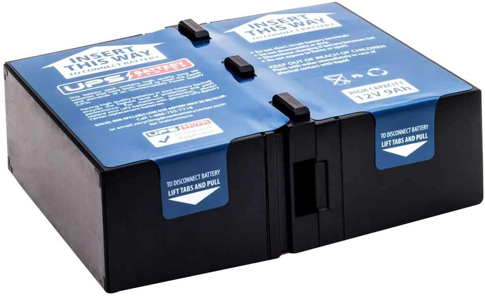 New Battery Cartridge for APC Back-UPS Pro 1500 BR1500G Compatible Replacement by UPSBatteryCenter