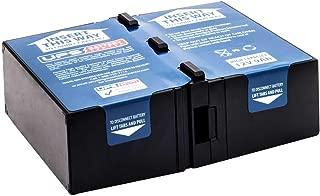 APC Smart-UPS C 1000 RM 2U SMC1000I-2U New Compatible Replacement Battery Pack by UPSBatteryCenter