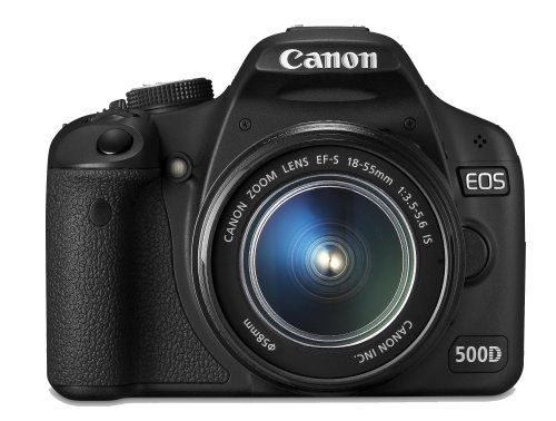 Canon EOS 500D - Cámara Réflex Digital 15.1 MP (Objetivo EF 18-55 DC)