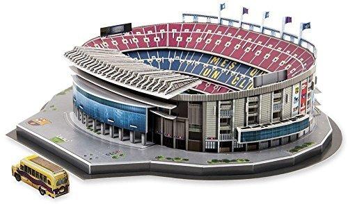Model / Puzzle 3d - The Camp Nou Stadium Nanostad FC Barcelona Camp NOU Stadium 3D Puzzle by
