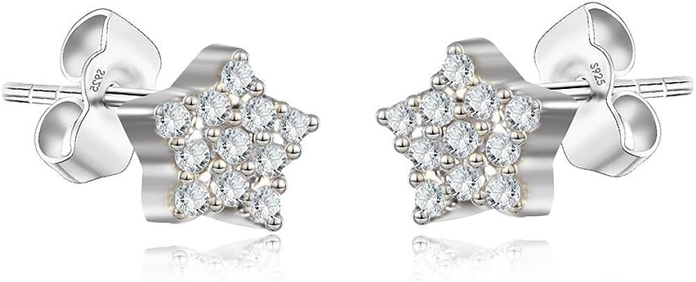 Dealing full price reduction Sterling Silver Stud Earrings Dainty Bolt Bar M Mini Lightning Max 70% OFF