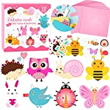 Valentines Day Cards for Kids 32 Packs with Animal Bookmarks + Temporary Tattoos + Envelopes, Valentines Day Greeting Cards, Kids Valentines Day Exchange Gift Cards for Classroom School Party Favors