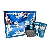 Versace EROS Gift Set for Men 1.7 oz EDT + 1.7 oz Shower Gel + 1.7 oz Aftershave Balm, Combo