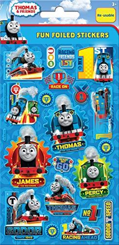 Paper Projects 01.70.06.114 Thomas et ses amis Autocollants réutilisables Bleu 19,5 x 9,5 cm