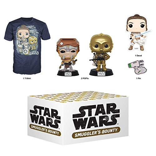 Funko Star Wars Smugglers Bounty Subscription Box, Adventures of Kijimi, December 2019, XL T-Shirt, Multicolor