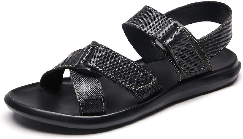 Herren Sommer Open Open Toe Slip On Casual Urlaub Wandern Sandalen flexibel atmungsaktiv komfortabel im Freien wasserdichte Schuhe mit Einstellbarer Note  Räumung sparen