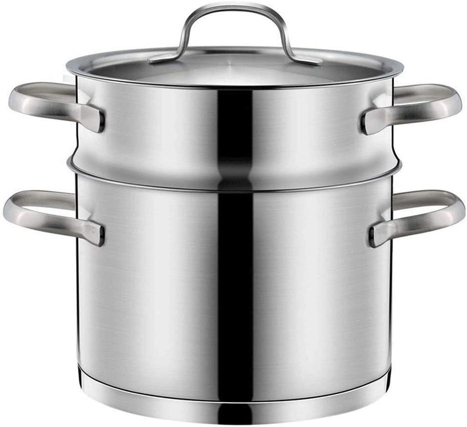 SHUNFENG-Ltd Stainless Steel Our shop OFFers the best service Double Boiler Set Challenge the lowest price Steam and Steamer