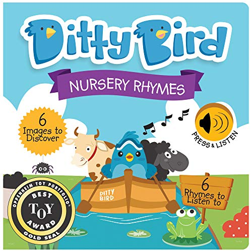 Our Best Interactive Musical Nursery Rhymes Book for Babies. Educational and Musical Toddler Toys Ages 1-3. Sound Board Books for one Year Old. 1 Year Old boy Gifts. 1 Year Old Girl Gifts.