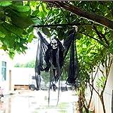 Deco Halloween Exterieur Squelette 2019 Fantôme Pendentif LED Lumière Cri Suspendu Fantôme Halloween Lumières Pour Bar Décoration De Fête Costumes
