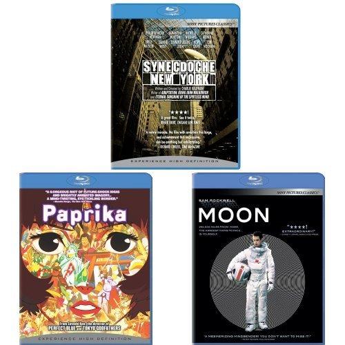 Synecdoche + New York + Paprika + Moon