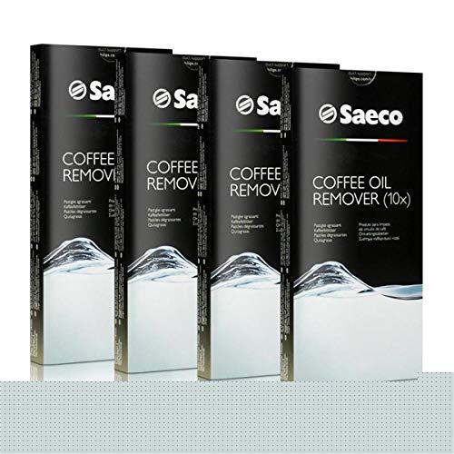 4x Saeco Kaffeefettlöser Tabletten - für Kaffeevollautomaten - CA6704/99-10 Tabletten