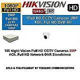 Hikvision DS-7104HQHI-F1 1080P (2MP) 4CH Turbo HD DVR 1Pcs + Hikvision DS-2CE56DOT- IR