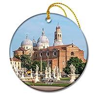 パドヴァ教会イタリアクリスマスオーナメントセラミックシート旅行お土産ギフト