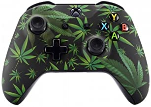 420 Black Rapid Fire Custom Modded Controller Compatible with Xbox One S/X 40 Mods for All Major Shooter Games (with 3.5 Jack)