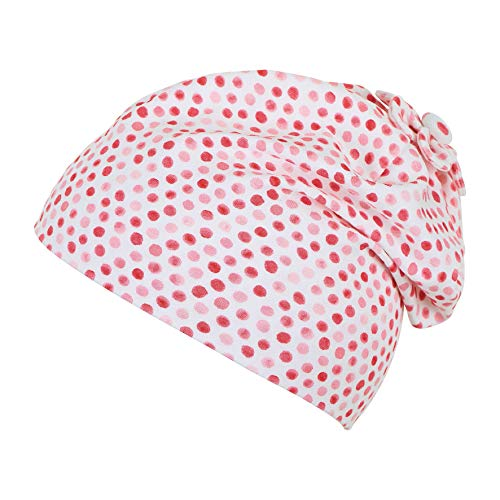 Sterntaler Baby-Mädchen Slouch Beanie Hat Mütze, Weiß (Weiss 500), XXXX-Large (Herstellergröße: 47)