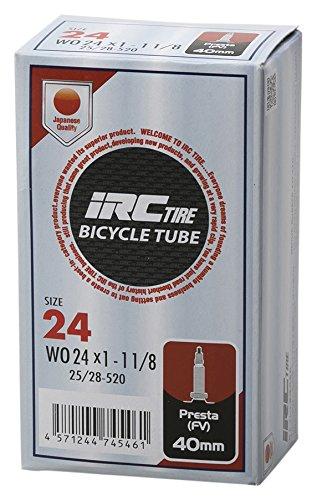 IRC BICYCLE TUBE WO 25-520 ・ 24X1-1,1/8 仏式40mmバルブ 28741J