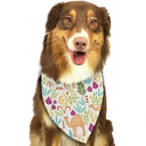 FunnyStar Hond Bandana Zomer Tropische Camel Sjaals Accessoires Decoratie voor Huisdier Katten en Puppies