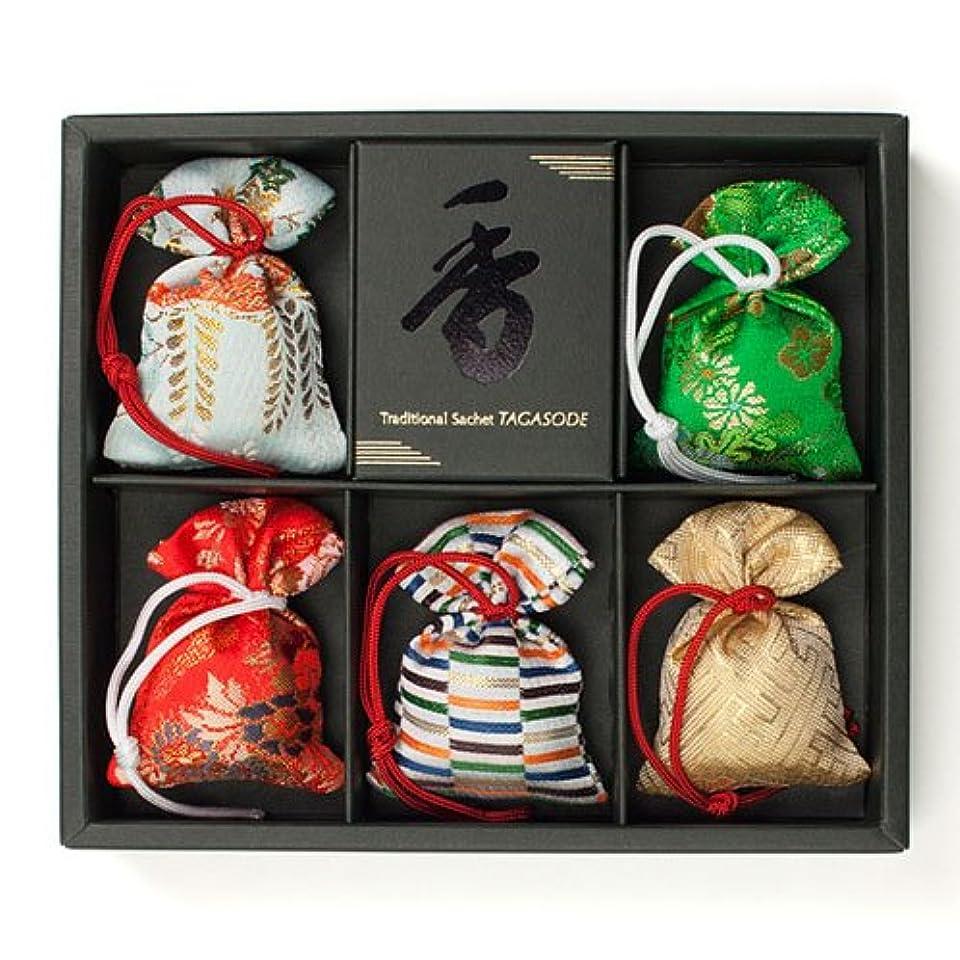 食べる雪だるま学部長匂い袋 誰が袖 極品 5個入 松栄堂 Shoyeido 本体長さ60mm (色?柄は選べません)